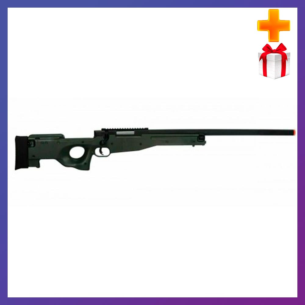 Дитяча іграшкова гвинтівка на пульках 6 мм M G 96 чорна + Подарунок