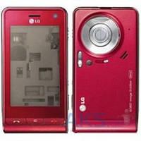 Корпус LG KU990 Red