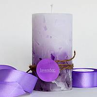 Ароматизированная свеча Лаванда