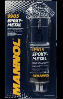 Клей двухкомпонентный смола полимерная на эпоксидной основе Mannol Epoxy-Metal
