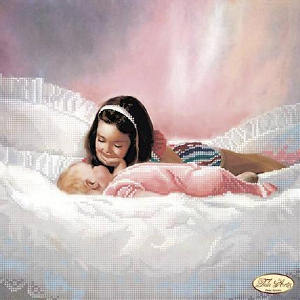 """Рисунок на ткани для вышивания бисером """"Малыш"""", фото 2"""