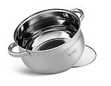 Набір посуду Edenberg EB-4065 з 6 предметів каструлі з нержавіючої сталі, фото 2