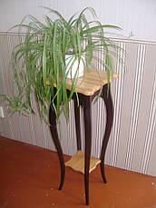 """Подставка для цветов """"Азалия"""". Массив - ольха. Палитра - 10 цветов., фото 3"""