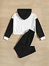 Костюм двойка свитшот,худи  и штаны принт You are excelent, фото 2