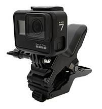 """Зажим для Gopro та інших екшн камер з посиленою гусячої шиєю """"Кріплення щелепи""""- Flex Clamp, фото 3"""