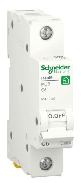 Автоматичний вимикач RESI9 6kA 1P 6A C