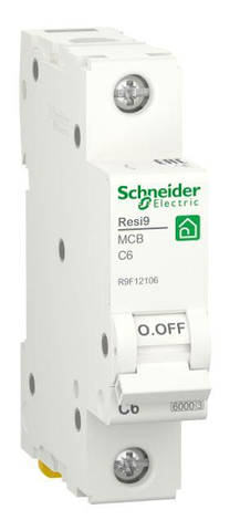 Автоматичний вимикач RESI9 6kA 1P 6A C, фото 2