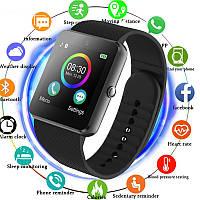 Сенсорные Smart Watch GT-08 смарт часы, умные часы, фитнес браслет, фитнес трекер, мужские и женские часы