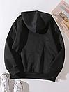 Толстовка на ФЛИСЕ худи с капюшоном с молнией, фото 3