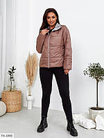 """Куртка жіноча 1524 (48-50, 52-54, 56-58, 60-62) """"VARYA"""" недорого від прямого постачальника AP"""
