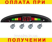 Парктроник (парковочная система) 4 датчика чёрный