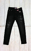 Теплые джинсы на флисе для девочки Seagull , Венгрия, фото 1