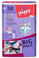 Детские подгузники, памперсы Bella Happy Junior 5 (12-25 кг) Big Pack 58  шт.