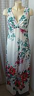 Платье женское летнее в пол нарядное макси бренд Pepperberry р.48 5108, фото 1