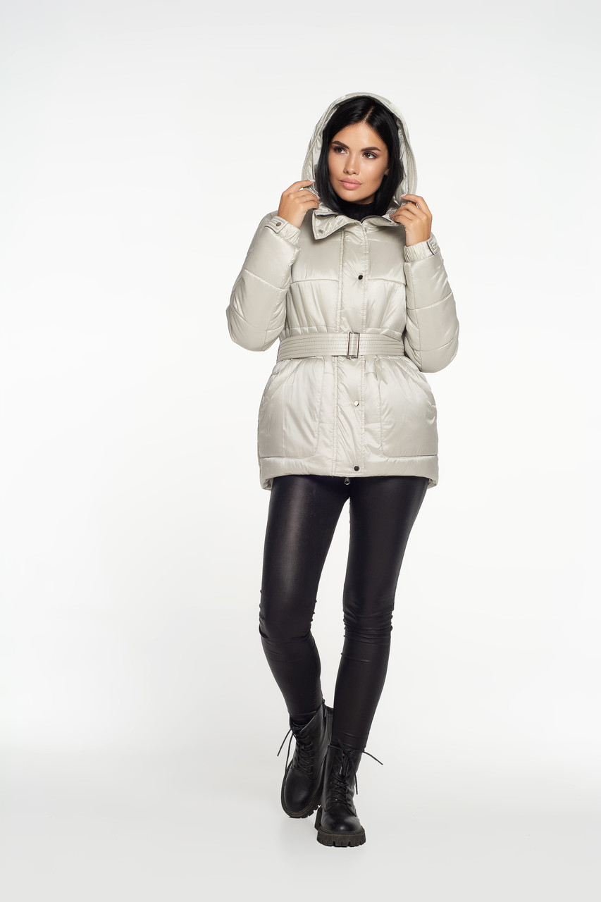 Зимова куртка перлинна