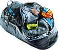 Мужской вместительный туристический рюкзак DEUTER raveller 70 + 10, 3510115 7400 черный, фото 5