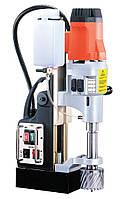 Четырехскоростная дрель на магнитной основе 2000Вт, 220В, 4ск. 150/200/300/400об/мин, 24,8 кг AGP MD750.