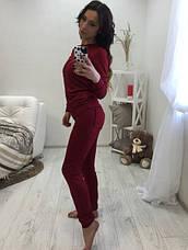 Спортивный костюм манжетами и карманами , фото 3