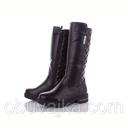 Зимняя обувь оптом Модные подростковые ботинки оптом от фирмы MLV  (рр 32-37), фото 2