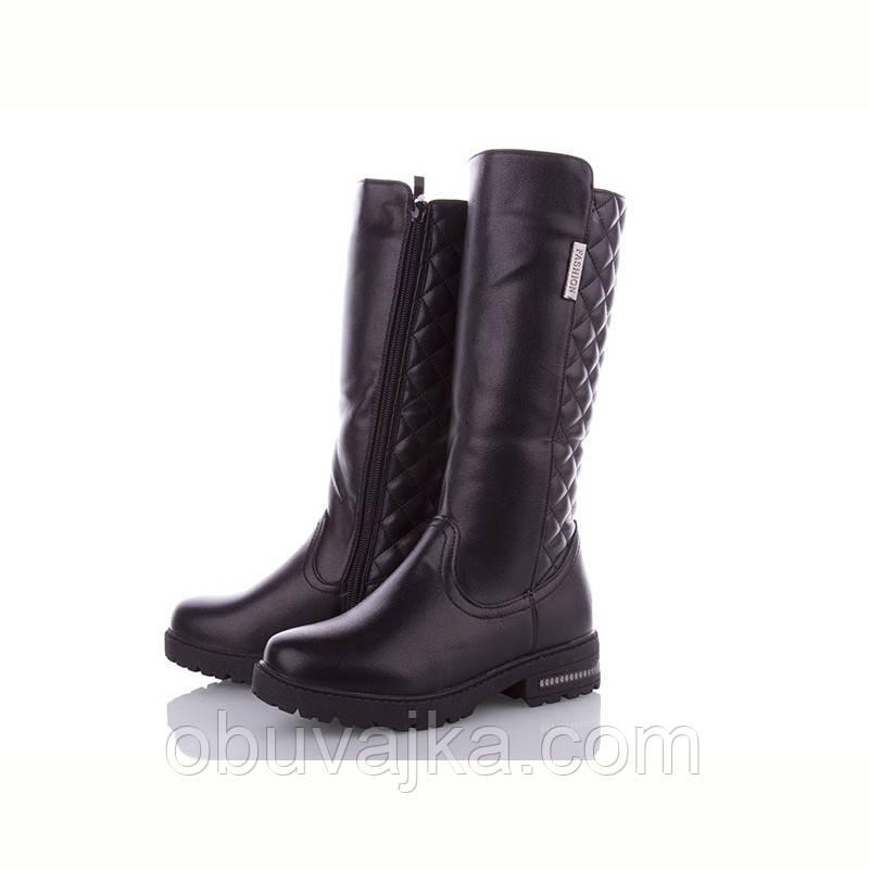 Зимняя обувь оптом Модные подростковые ботинки оптом от фирмы MLV  (рр 32-37)