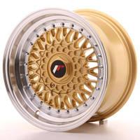 Диски литые 15/4*100/4*108/4*114.3/et15-20  J7 - J8  Japan Racing Wheels JR9  (цвет полированный серебро, хром, полировка с золотом)