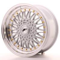 Диски литые 17/4*100/4*108/4*114.3/et20  J8,5 - J10  Japan Racing Wheels JR9  (цвет полированный серебро, полировка с золотом)