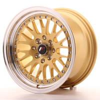 Диски литые 15/4*100/4*108/4*114.3/et0-30  J7 - J8 - j9  Japan Racing Wheels JR10  (цвет полированный серебро, черный, белый, полировка с золотом)