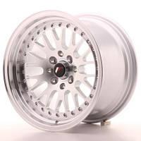 Диски литые 15/5*100/5*114.3/et10-15  J8 - j9  Japan Racing Wheels JR10  (цвет полированный серебро)