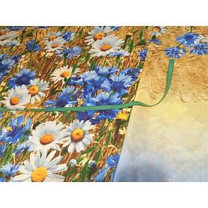 Постельное белье Васильки 3Д перкаль Moonlight Евро, фото 2
