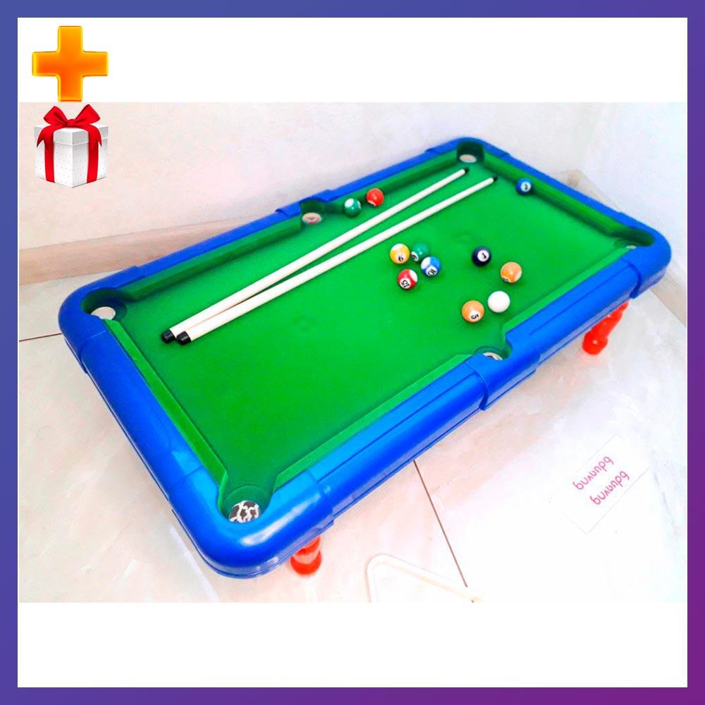 Детская настольная игра бильярд 2261 Настольный бильярд для детей 16 мячей + Подарок