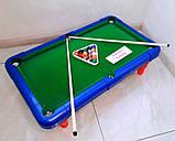 Детская настольная игра бильярд 2261 Настольный бильярд для детей 16 мячей + Подарок, фото 3