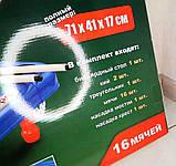 Детская настольная игра бильярд 2261 Настольный бильярд для детей 16 мячей + Подарок, фото 5