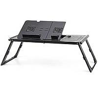 Пластиковый столик для ноутбука UFT T15 Black