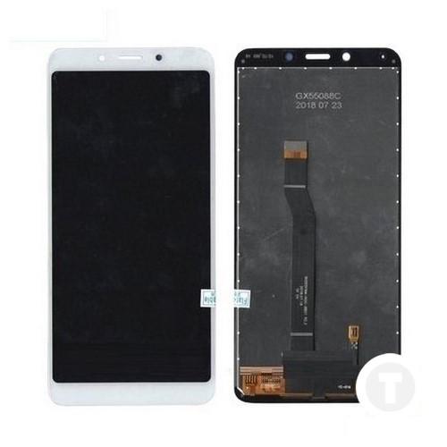 Дисплей (экран) для Xiaomi Redmi 6/ Redmi 6A с сенсором/ тачскрином (Модуль) белый