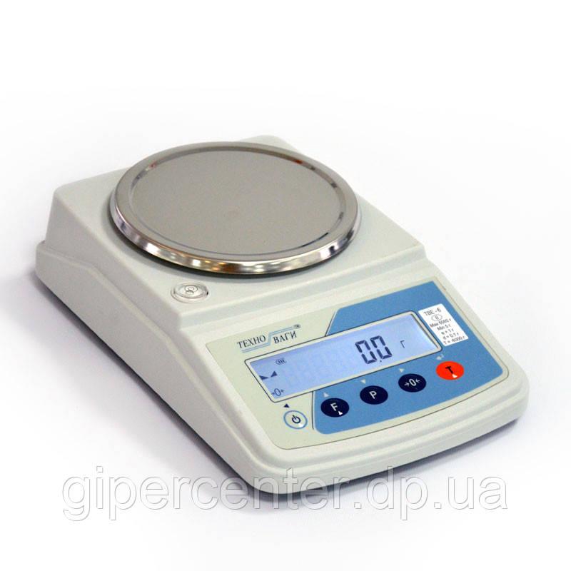 Лабораторные весы ТВЕ-0,15-0,001/2 Техноваги (до 150 г, точность 0,001 г)