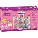 Ляльковий будиночок конструктор 934 Будинок для принцеси 138 деталей + Подарунок, фото 2