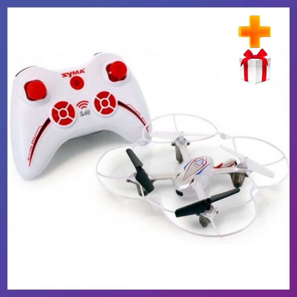 Детский квадрокоптер Syma X11С Air-Cam с камерой квадрокоптер для детей дрон на пульте + Подарок