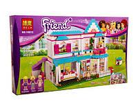 Конструктор лего для девочек Friends 10612 Дом Стефани аналог lego