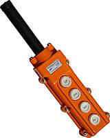 """Пульт кнопочный тельферный ПКТ4 кнопки 230B IP54 TM """"Electro"""""""