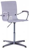 Кресло Фиджи Хром Дуб Беленый (AMF-ТМ)