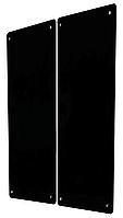 HGlass IGH 8012 Dual черный 2х350/175 Вт инфракрасный стеклокерамический панельный обогреватель