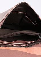 Жіночий темно-рожевий (пудровий) міський рюкзак з натуральної шкіри Tiding Bag - 87671, фото 5
