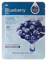 Тканевая маска для кожи лица Rorec Natural Skin Blueberry Mask Голубика 30 г