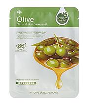 Тканевая маска для кожи лица Rorec Natural Skin Olive Mask Олива 30 г