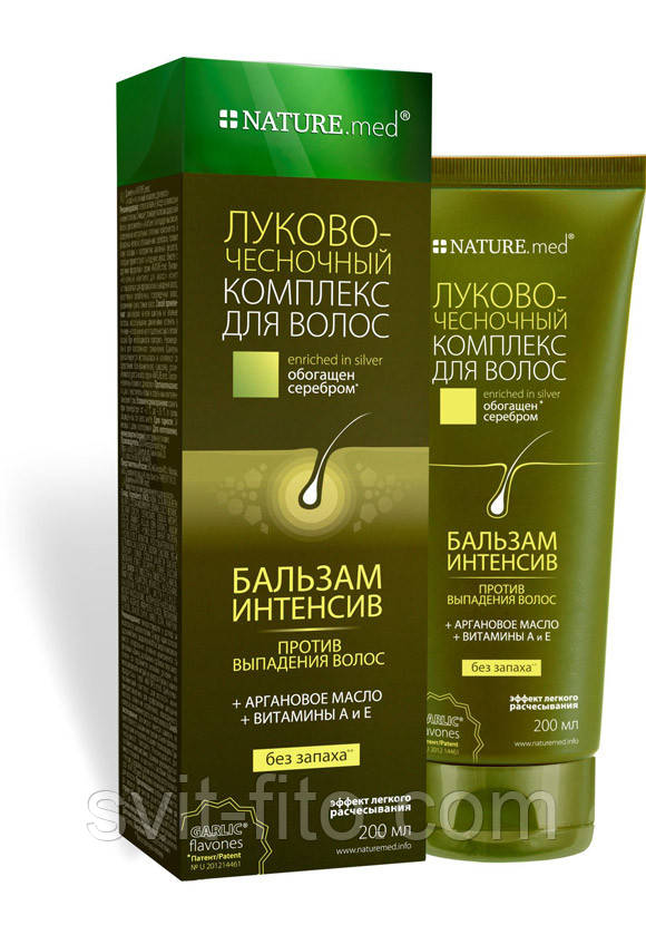 Бальзам-интенсив Луково-чесночный комплекс для волос