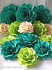 Большие бумажные цветы для праздничного декора , фото 6