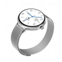 Умные Смарт Часы Supero Smart Watch Up9 С Тонометром Серебристый
