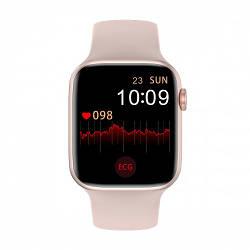 Умные Смарт Часы Supero Smart Watch W26 С Тонометром Розовые