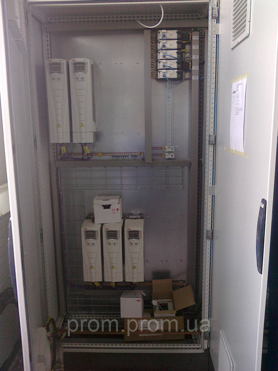 Ящики управления электродвигателями серии РУСМ 5000, IP54