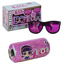 Лялька ЛОЛ ЛОЛ Капсула шпигун c очками | 4 серія l.o.l. surprise eye spy | секретні меседжі